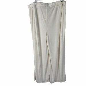 Chico's Travelers Stretchy Travel Knit Pants 3 NEW